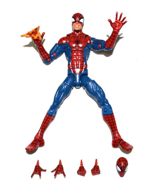 "Marvel Comic 7/"" Spiderman Spider-Man Variant Orange Venom Loose Action Figure"