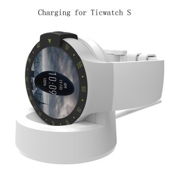 Ticwatch E Charger,Replacement Data Connection Charging Dock Compatible with Ticwatch E/S Stand Station