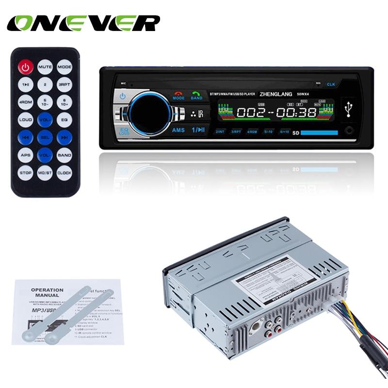 Bluetooth Car Stereo Audio In-Dash FM Aux Input Receiver USB SD MP3 Radio Player
