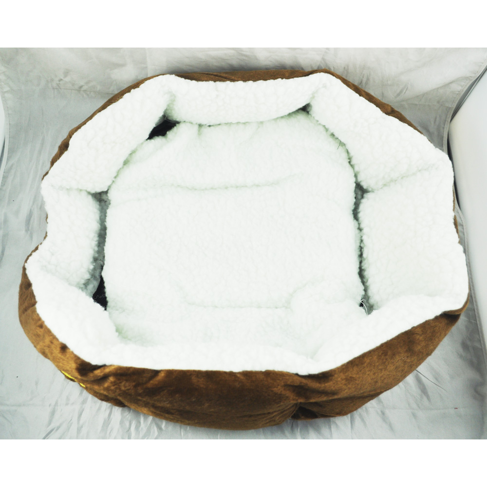 Practical Luxury Unique Warm Indoor Soft Pet Dog Cat Bed + Cushion Dog  Puppy Sofa House
