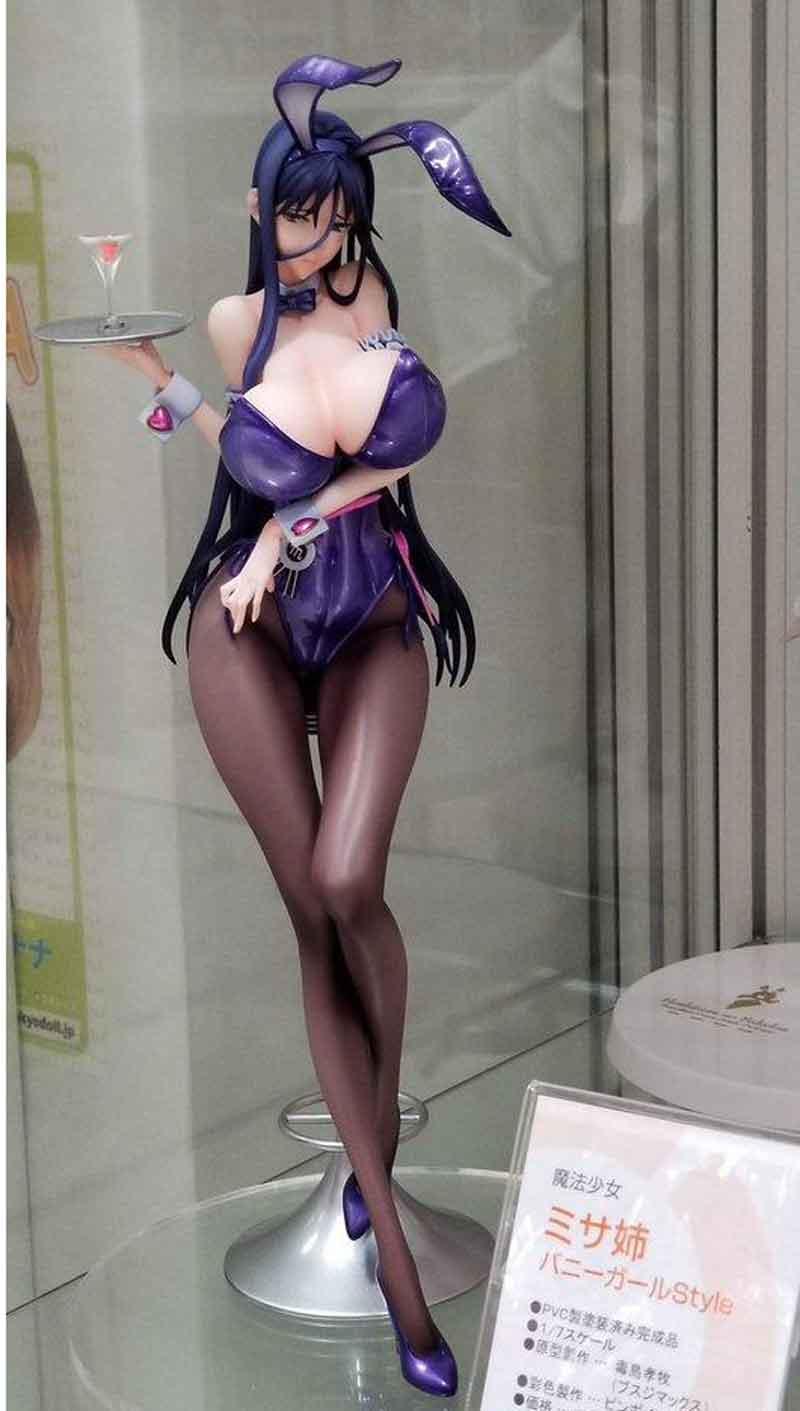 Native BINDing 27cm Misa Figurine Bunny Girl Pure Magical Girl RAITA Sexy Girls PVC Action Figures Toys For Kids Gifts 2019 New