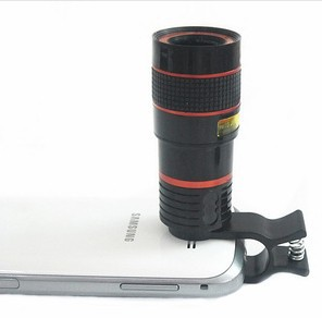 Universal 8X Optical Zoom Telescope Camera Mobile Phone Lens For Lenovo k3 k910 k920 k900 k80m a516 note 8 glass + metal lenses