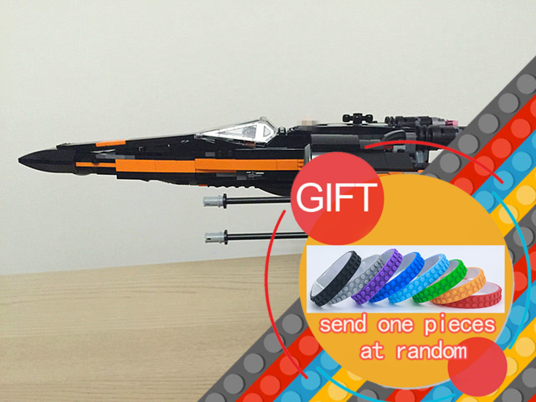 05004 748pcs Star Series First Wars Order Poe's X Toys wing Fighter set Building Block Compatible with 75102 gift lepin hot sale building blocks assembled star first wars order poe s x toys wing fighter compatible lepins educational toys diy gift