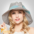 2016 New Style Base Half Curling with Bow Cotton Hat Lady Summer Fashion Hat Cap Beach Hat Sunscreen Sun Hats