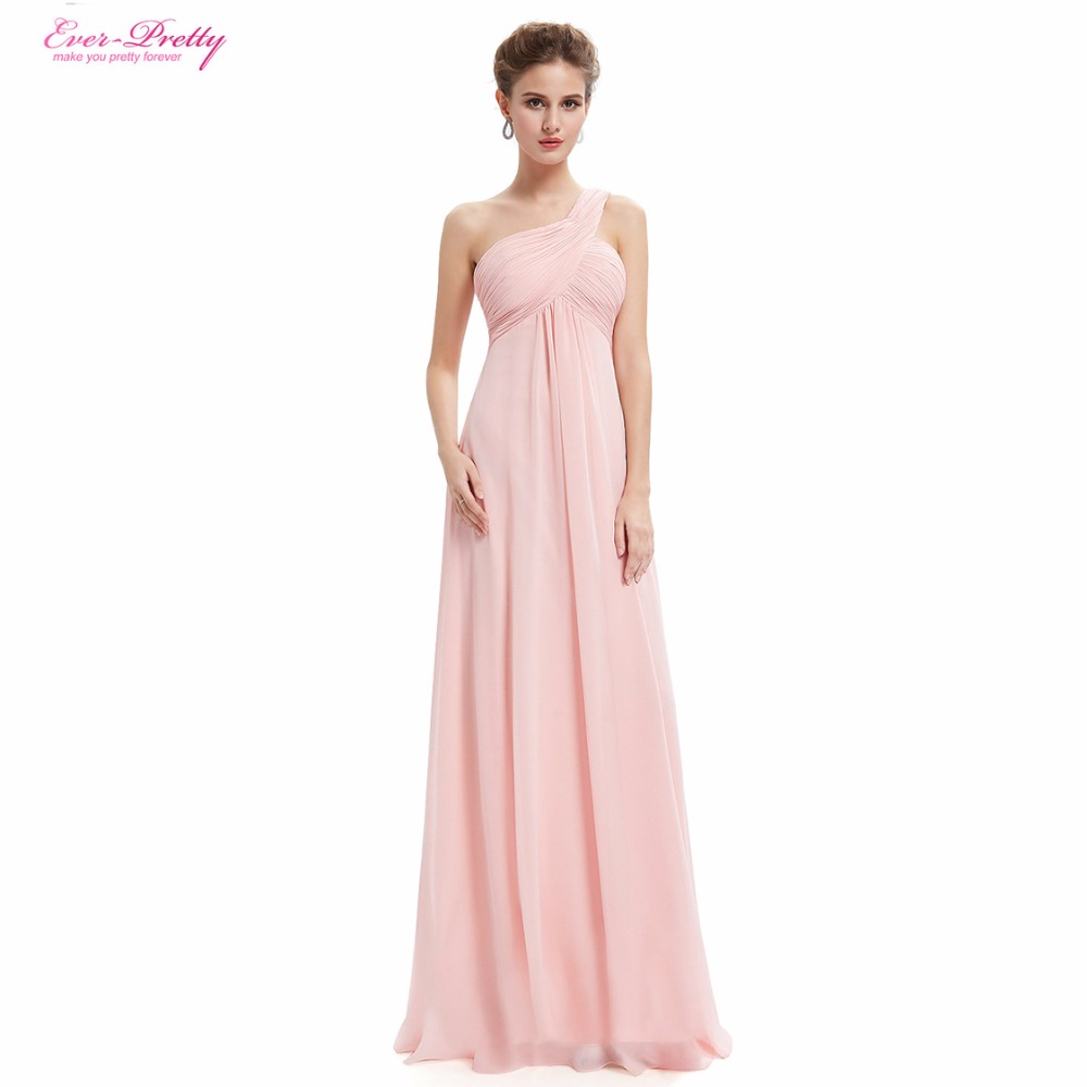 Evening Dresses Ever Pretty EP09816 One Shoulder Ruffles Padded ...