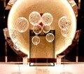 5 unids 18 pulgadas gran globo multicolor Brithday Party confetti decoración de la boda de Helio Globo de Látex Transparente