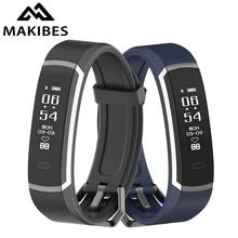 Makibes R3 Bluetooth 4.0 Wristband Men Women Bracelet Contin