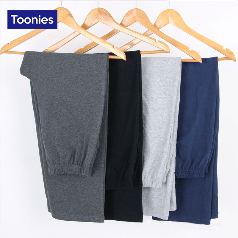 Autumn Cotton Pants Style Straight Trousers Men's Clothing