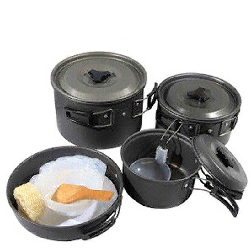 many people set the pot aluminum pot pot with a portable