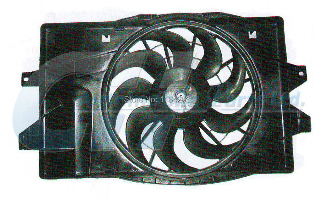 Radiator Cooling Fan For 93-95 Dodge Caravan Plymouth Voyager