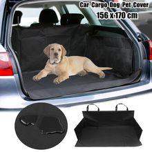1 шт. черный Водонепроницаемый собака багажнике сиденья внедорожник/багажник защитник лайнер коврик Оксфорд