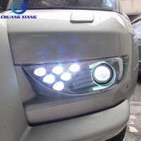 Led Front Fog Lamp Fog Light For Toyota Land Cruiser Prado 120 LC120 Accessoreis 2003 2009