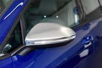 High quality car styling R Line Style Silver Matt Chrome Side Mirror Cap Replacement for vw Golf MK7