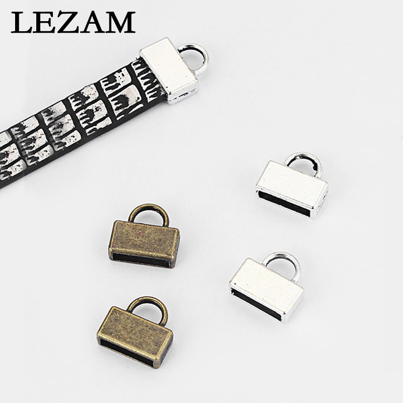 10mm Bronze Flat Leather Cord Metallic Bronze Leather Cord 8inch  20cm  S 40 099 Bronze Leather Flat Lace