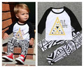 Baby clothes boys suits long sleeve tshirts+pants 2pcs sets fashion Infantil cotton roupas de bebe overall clothes ins hot 4m-2y