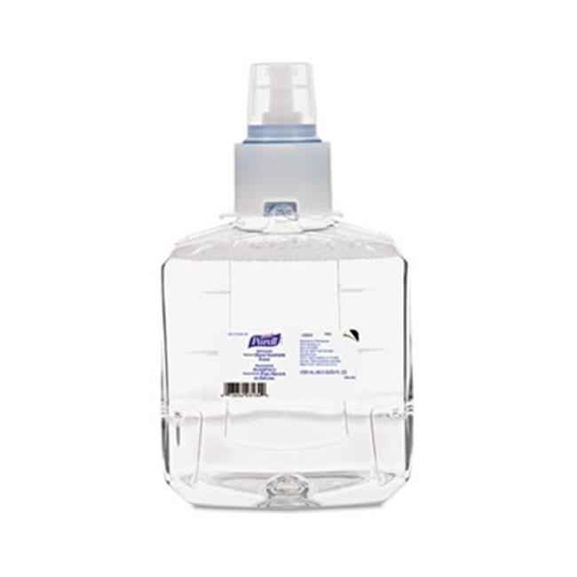 Gojo 190502CT Advanced Instant Hand Sanitizer Foam LTX-12 1200 ml Refill Clear 2-Ctn famous names lumos instant impact bottom coat 15 ml