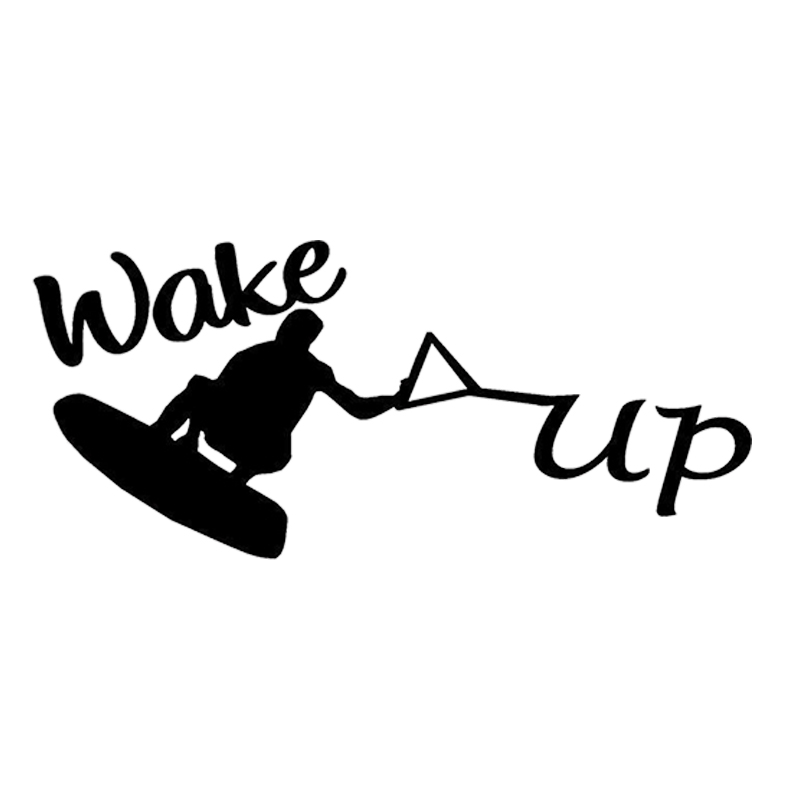 Wakeboard Water Skiing Decal Sticker Ski Vest Boat Sports Handsome And Cool Stickers in Car Stickers from Automobiles Motorcycles