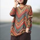 Casual Pullovers Fem...