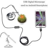 Endoscopio de mano endoscopio ordenadores Metal Digital microscopio teléfonos móviles resistente al agua oreja herramienta de limpieza duradera MS100|Microscopios| |  -