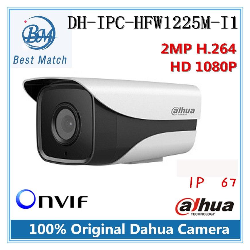 bilder für Dahua dh-ipc-hfw1225m-i1 ir hd 1080 p security 2mp ip-kamera ip67 surveillance network stiftkamera unterstützung onvif