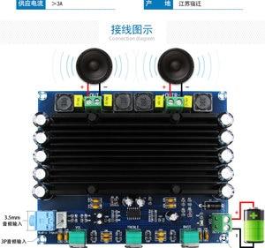 Image 4 - DC 12V 24V TPA3116 150w + 150w 2.0 ערוץ כפול סטריאו HIFI דיגיטלי אודיו מגבר לוח TPA3116D2 Amplificador