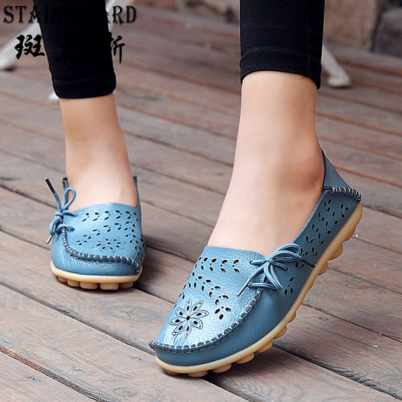 Buy 2017 Spring Women Flats Shoes Female Comfortable Fashion Women Shoes New