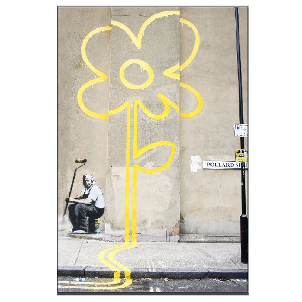 Unusual Banksy Wall Art Contemporary - The Wall Art Decorations ...