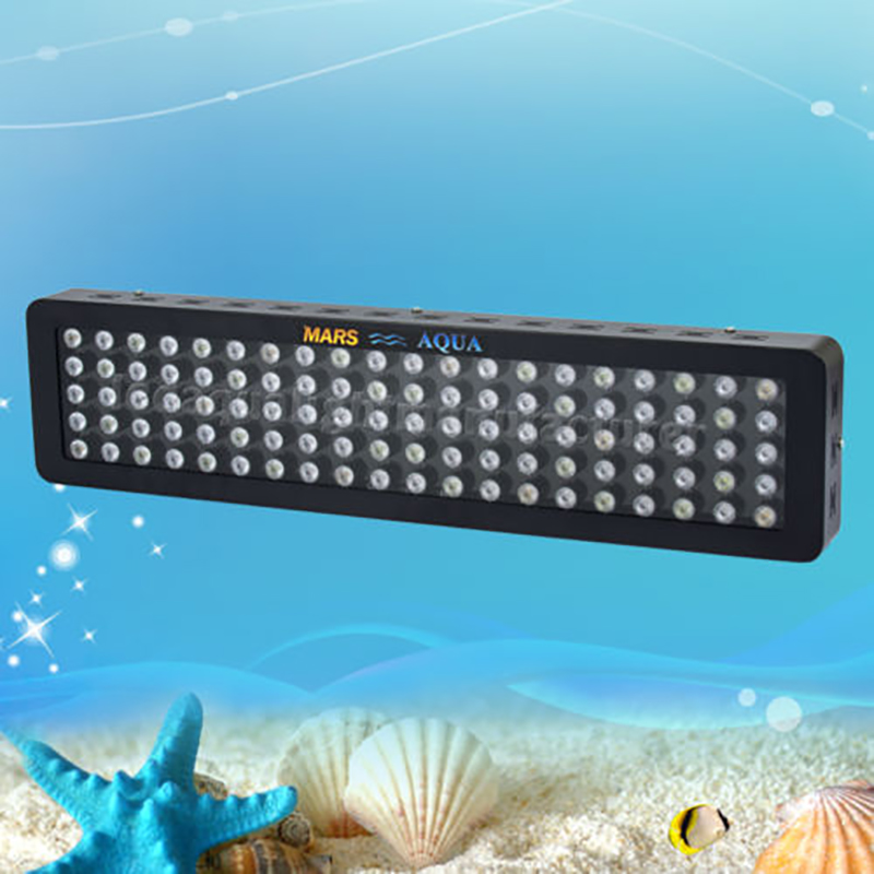 Marshydro Dimmable 300W LED Aquarium Light Full Spectrum Reef Coral Marine