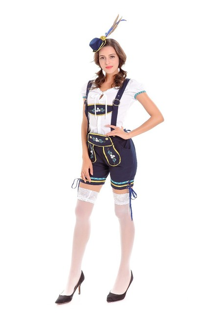 Oktoberfest Halloween Kostüme Für Cospaly Bier Maid Fancy ...