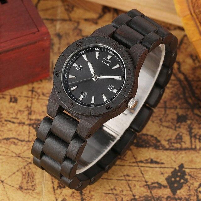 Reloj de pulso en madera completo colores 1