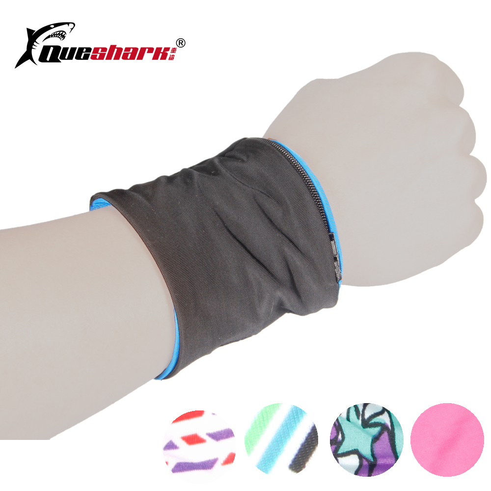 Badminton Tennis Wrist Band Zipper Pocket Running Cycling Wrist Pouch Wristband Storage Wallet Sport Bag Gym Sweatband Arm Band okulary wojskowe