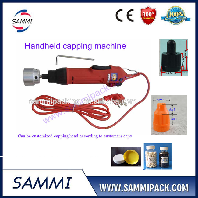 Best price SG-1550 Hand-held electric Capping Machine, plastic bottle capper