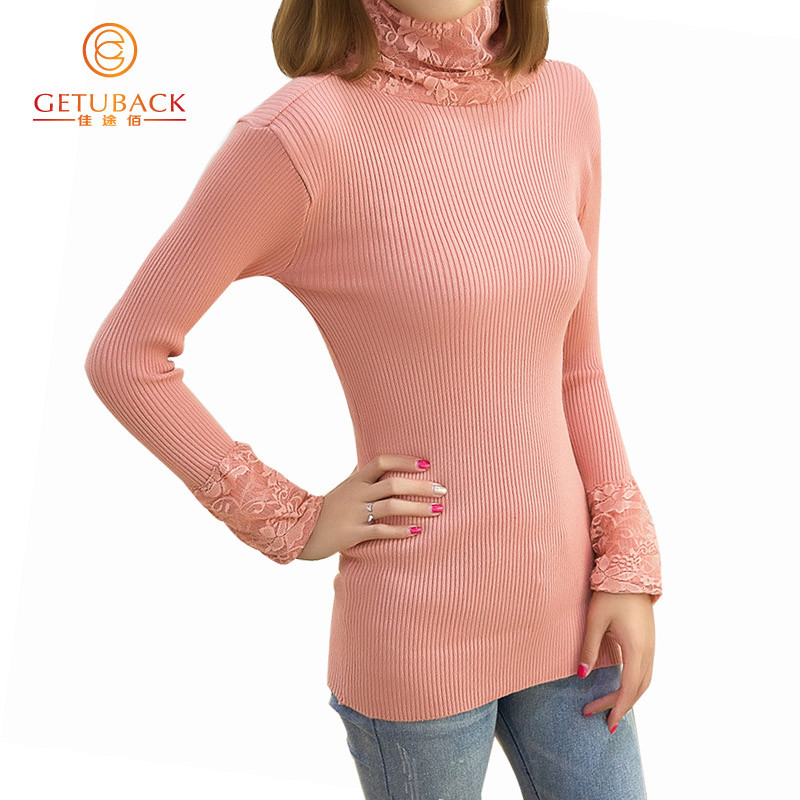 women-fashion-2016-spring-lace-turtleneck-sweaters-basic-casual-knitting-winter-Pullover-KB912