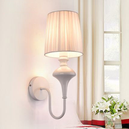 American Style Wall Lamp Fashion Art Deco Lighting Vintage Wall Lights Sconces Simple Iron Hotel Room LED Wall Light Bed Lamp new classic wall light vintage creative iron lamps american style iron antique wall lamp bed room lighting top glass home decor