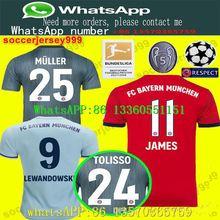 0e32f93e7fa Bayern Munich soccer jersey 2018 2019 Muller 25 RIBERY ROBBEN LEWANDOWSKI soccer  shirts Bayern Munich football