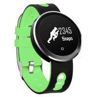 2018 New Q7 IP68 Waterproof Bluetooth 4 0 Smart Watch Heart Rate Blood Pressure Smart Bracelet