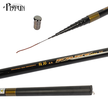 Pisfun Ultra-light JF Telescopic Carbon Fiber Stream Fishing Rod Hard Hand Fishing Pole 3.6M 4.5M 5.4M 6.3M 7.2M