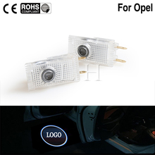 2XLED Car Door Welcome Light Laser Projector Logo Emblem Shadow fit For Opel Ins