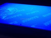 500prints Roll UV Fluorescent Thermal Transfer Ribbon For Zebra ID Card Printer P310 P330i P430i