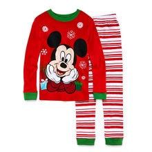c687629184551 2018 Enfants Pijama Garçons Pyjama Spiderman Mickey Pyjama Bébé Garçon Noël  Pyjama Pyjama Enfants Toddle Homewear Ensembles Vête.