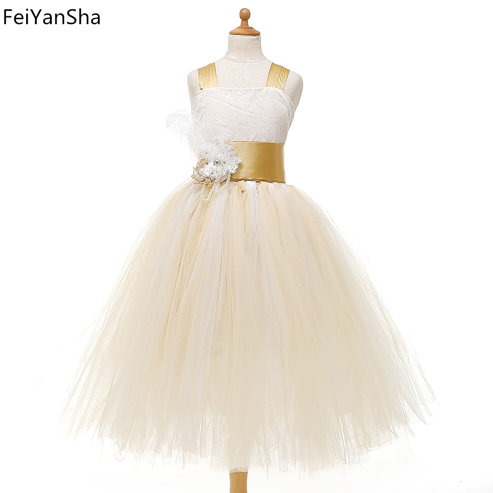 Kids Girls Wedding Flower Girl Dress Princess Party Pageant Formal Dress Crossed Back Sleeveless Lace Tulle Dress 2-14Y hearted shape back summer new princess girl s lace christening white big bowknot mesh sleeveless show performance formal dress