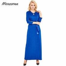 Misszonee женщины повседневные платья 2017 горячая продажа упругие женщины сплошной цвет elegent длинное платье Весна лето мода платья(China (Mainland))