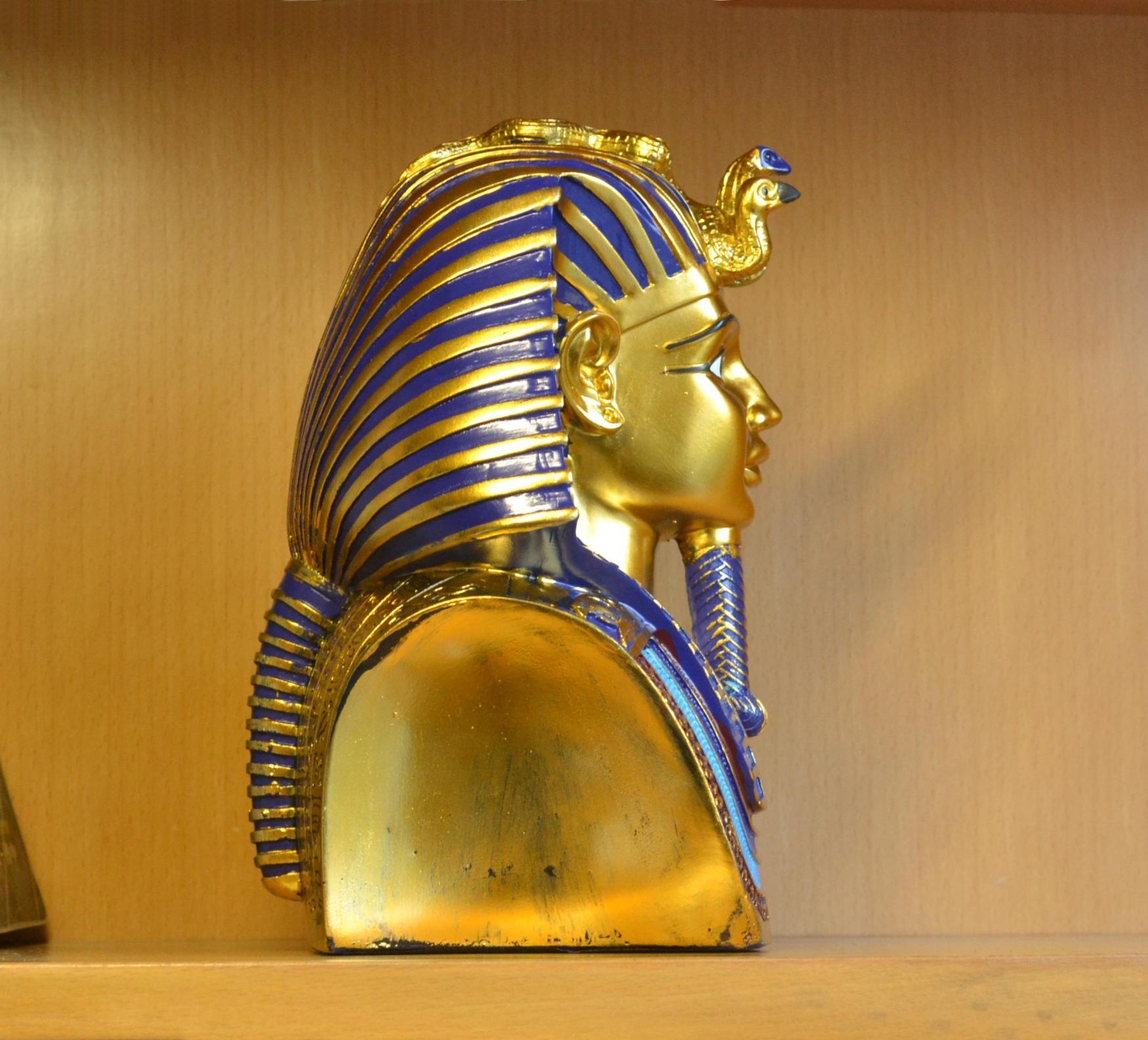 Fara N De Egipto Arte Escultura Decoraci N Artesan A Ornamento  # Muebles Egipcios