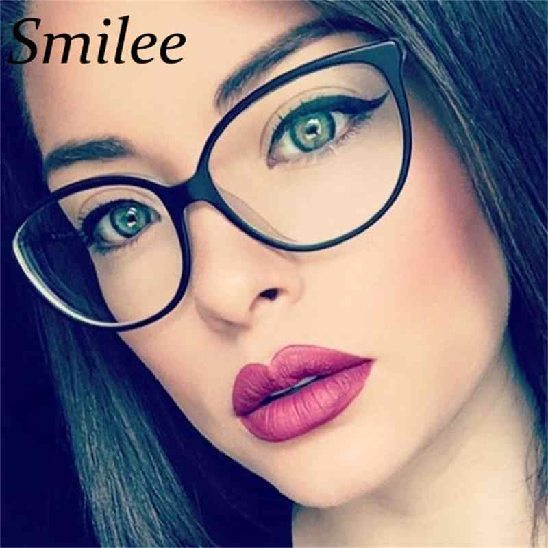 177a1a9c36 ... TR90 retro matte black cat eye glasses frame Fashion Clear Lens Eyewear  precription fake glasses purple ...