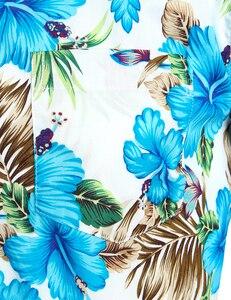 Image 5 - Hawaiian Camicette Mens Tropical Rosa Floreale Della Spiaggia di Estate Della Camicia Manica Corta Vacanza Abbigliamento Casual Hawaii Camicia Degli Uomini USA Taglia XXL