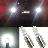 WLJH 2x Canbus Led High Bright 1156 BA15S P21W S25 Bulb Car Lamp DRL Daytime Running