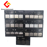 HY-1 Block 27 Plain Milling Surface Roughness Contrast Blocks Grinding Machines Lathe Roughness Comparison Block