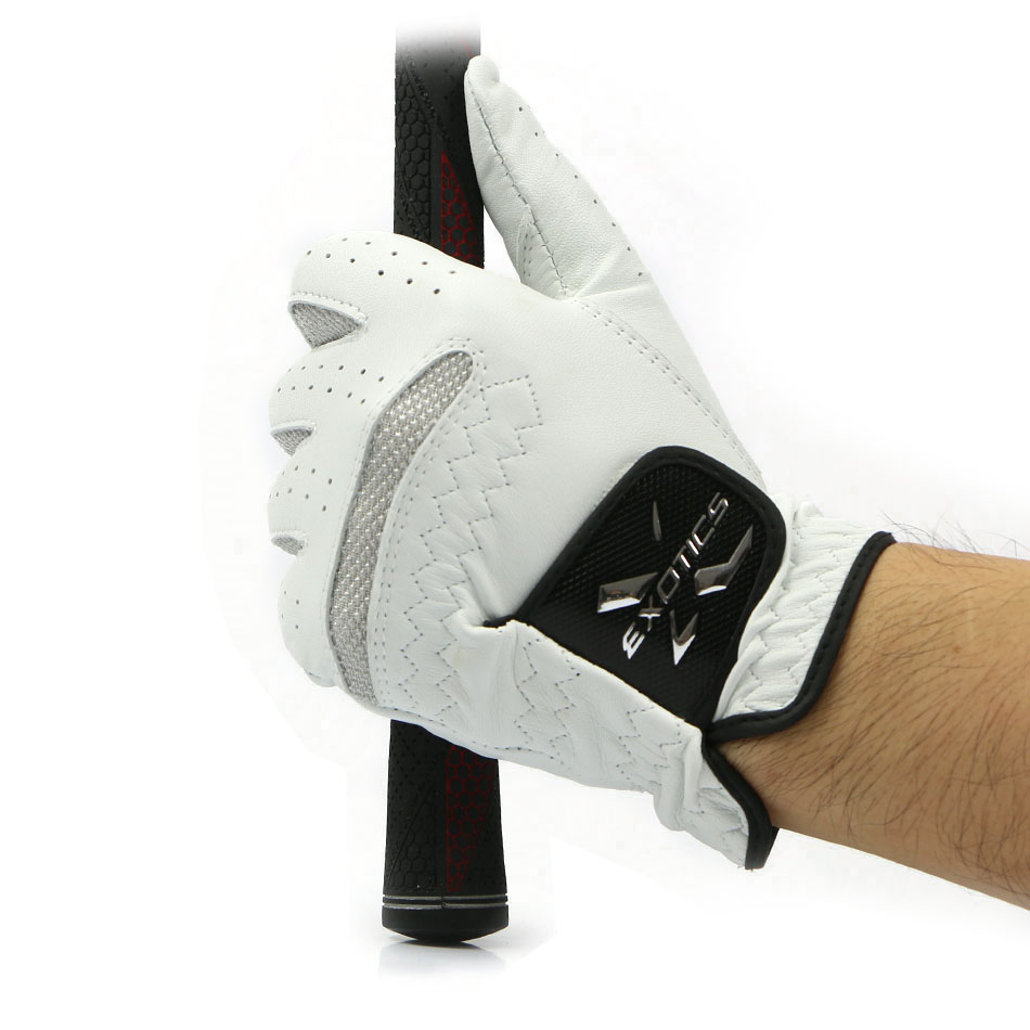 Prix pour La main Gauche de Gant de golf Hommes Doux Respirant Pur en peau de Mouton Gants De Golf De Golf sport En Plein Air accessoires livraison gratuite