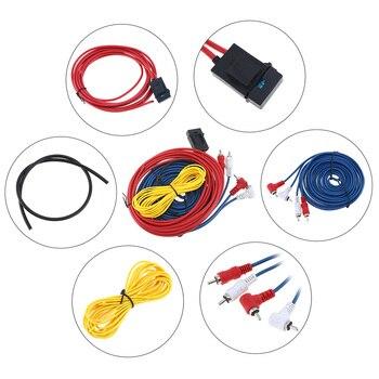 1 Set 45 Core 4M PVC + Copper Clad Aluminum Car Power Amplifier Audio  Line Speaker Woofer Cables Power Line ethernet cable