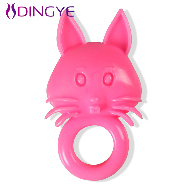 Dingye Reusable Condom Vibrating Cock Rings Penis Ring-In -7750